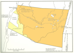 Colored Map of Livingston Manor